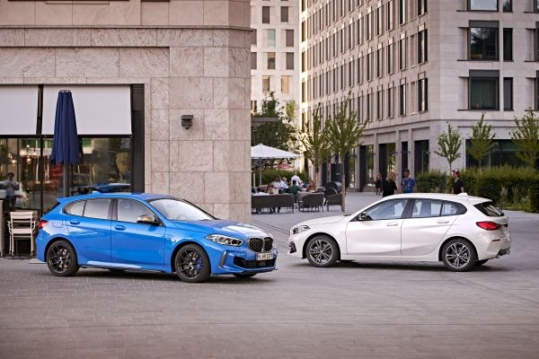 BMW uj autoi BMW 1 series