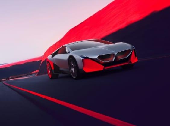 BMW uj autoi - Vision M NEXT
