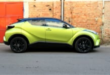 toyota c-hr neon lime 5