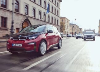 The BMW i3s, the BMW X5 xDrive45e and the BMW 330 Sedan