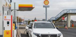 Shell Recharge 3 gyorstöltő allomas