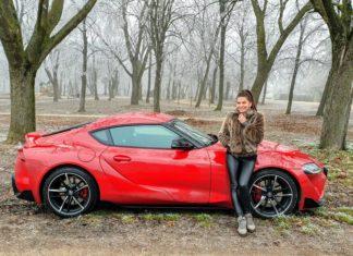 Szebeni Katalin Toyota GR Supra sportkupé teszt