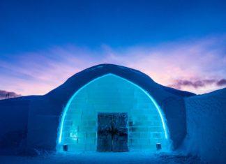 jéghotel bejarat