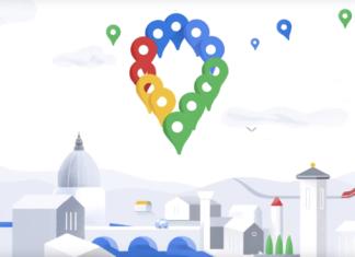 új google térkép