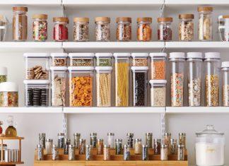 étel tárolás rendszerezés kamra