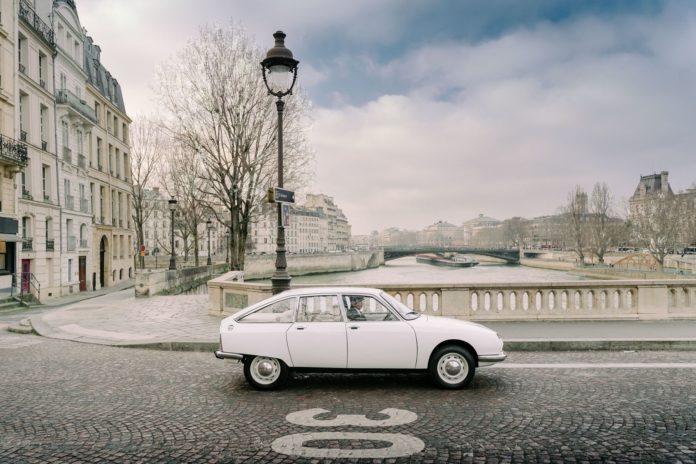 Citroën gs francia autó franciaország