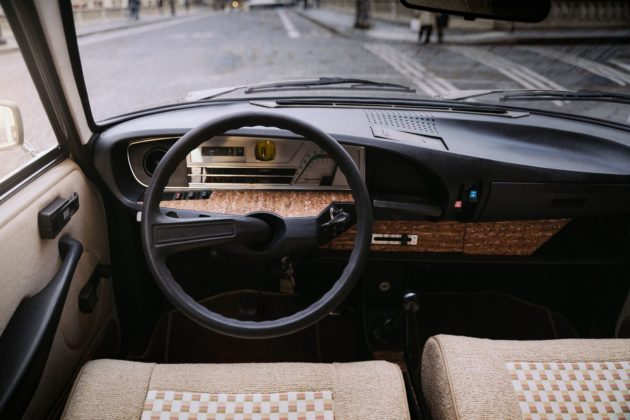 Citroën gs autó belső kárpitozás