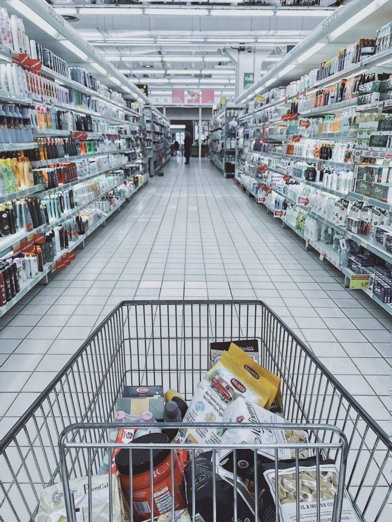 nagybevásárlás ételtárolás