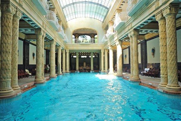 Gellért fürdő budapest beltéri medencék