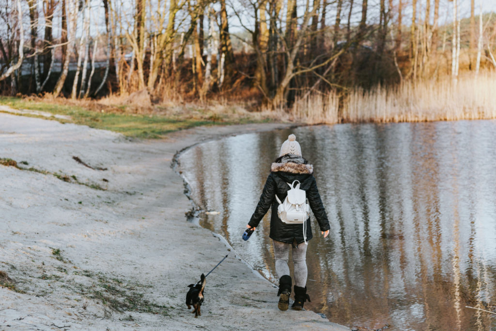 kutya sétáltatás