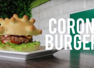 koronaburger koronavírus-járvány