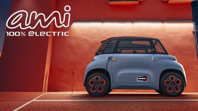 Citroen Ami olcsó elektromos autó