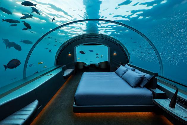 víz alatt hotel