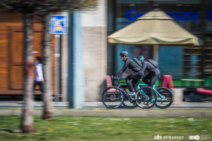 budapesti kerékpáros közlekedés mol bubi koronavírus