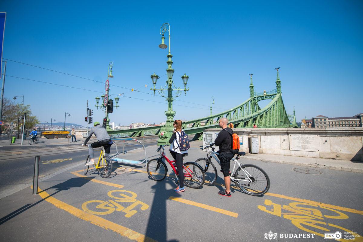 budapesti bicikliutak kerékpárral budapesten