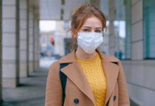 arc eltakarasa maszk koronavirus