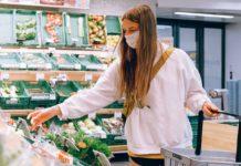 koronavírus fertőzés élelmiszer vásárlás fertőtlenítés