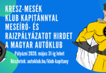 Magyar Autóklub klub kapitány rajzpályázat