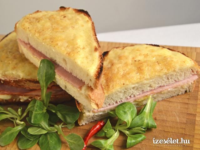 tokeletes croque monsieur szendvics