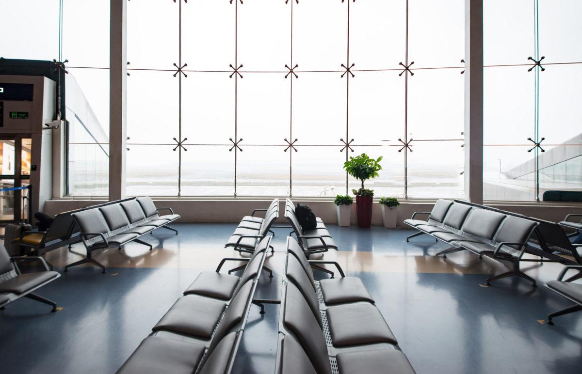 üres repülőtér budapest airport járatok