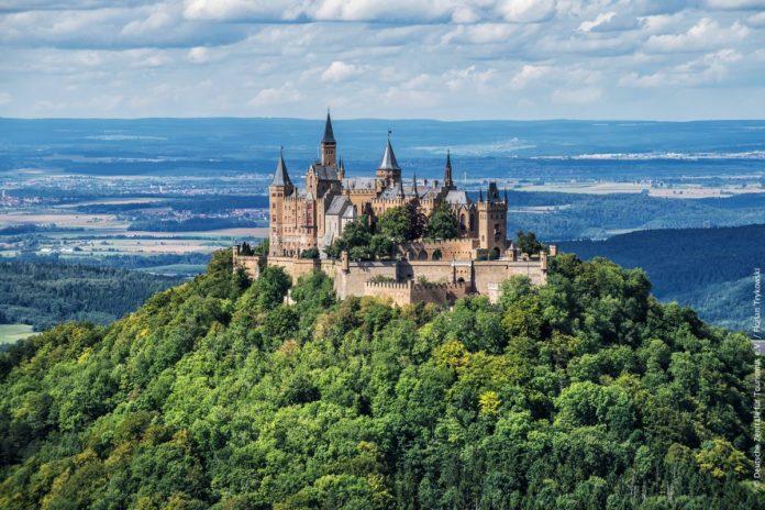 virtuális turizmus utazás hohenzollern kastély