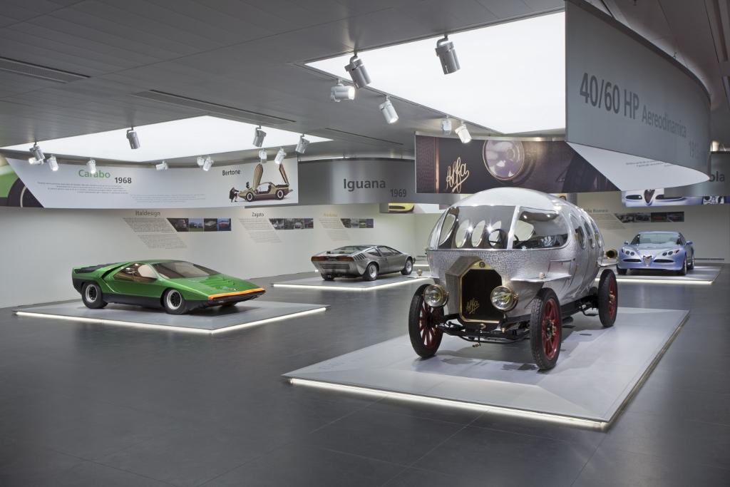Alfa Romeo múzeum kiállítás