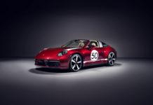 Porsche 911 Targa Heritage edition limitált szériás porsche