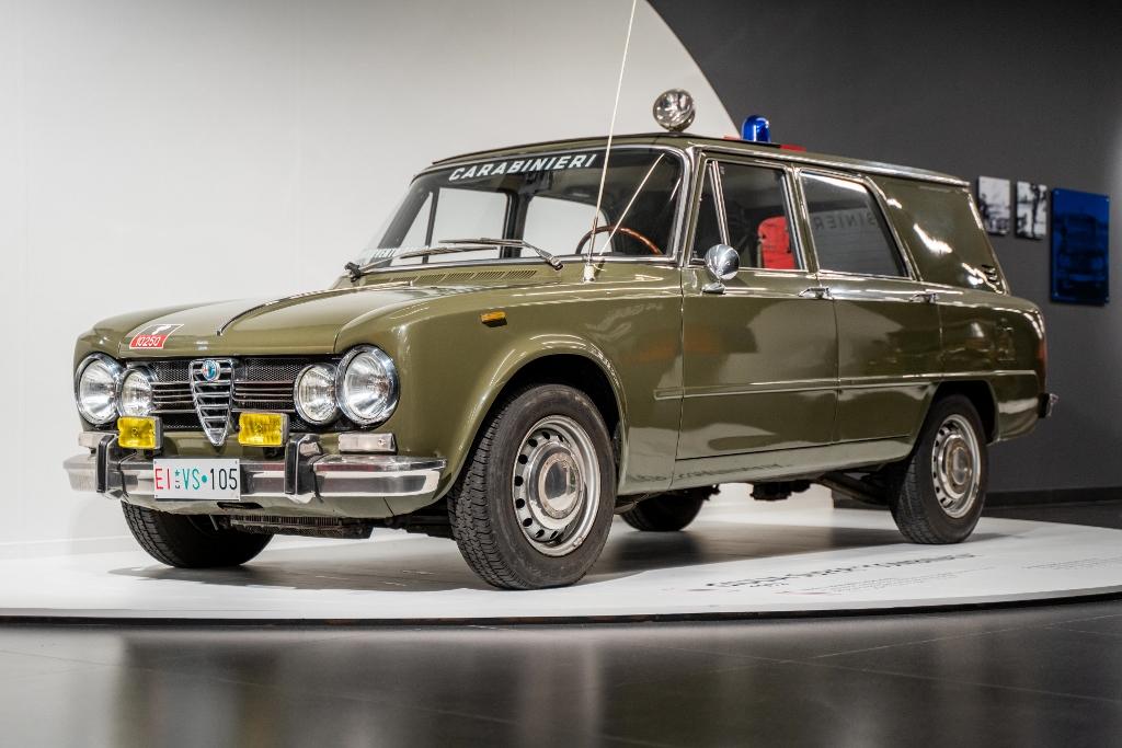 Alfa Romeo olasz rendőrség