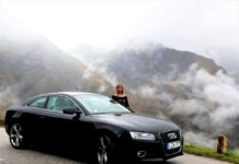 fekete audi A5 Coupe