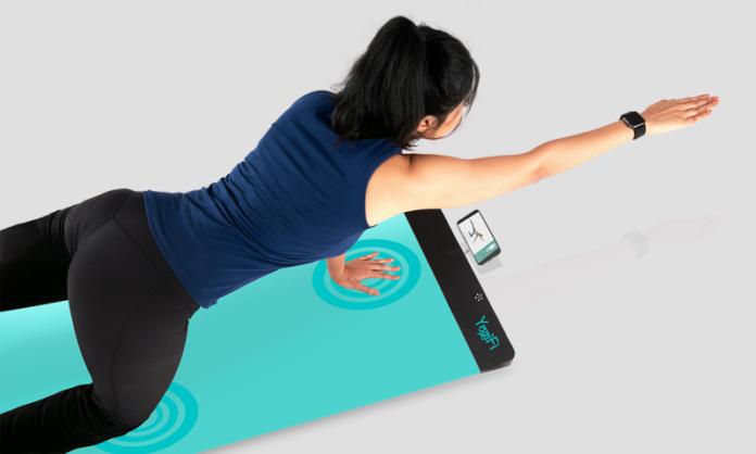 okos jógaszőnyeg otthoni jógázáshoz