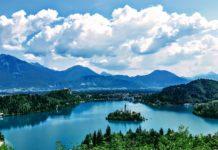 szlovénia bledi tó határátlépés