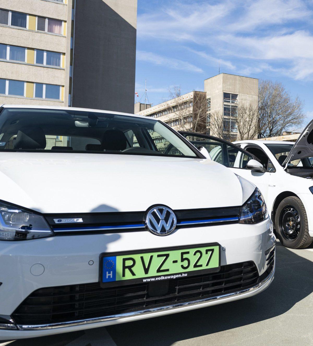Zöld rendszámos autók elektromos autó