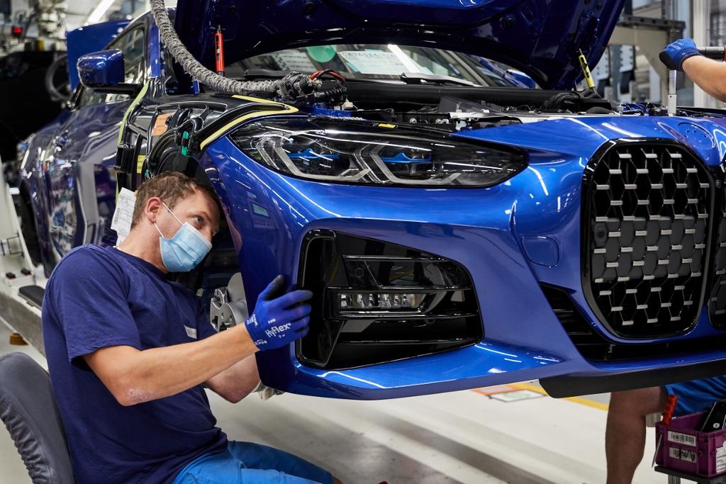 BMW 4-es sorozatgyártás