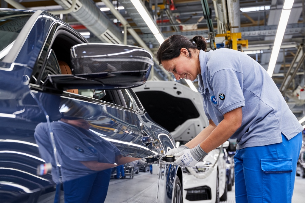 BMW gyár sorozatgyártás