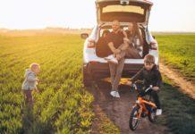 családi autó és gyerekek