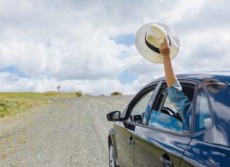 nyári autós utazás
