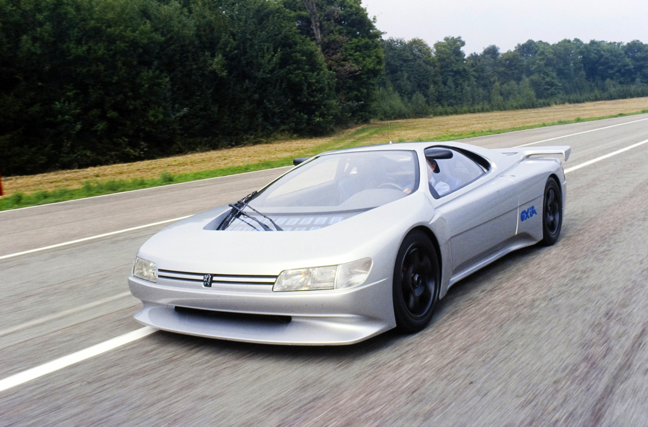 Peugeot Oxia koncepcióautó