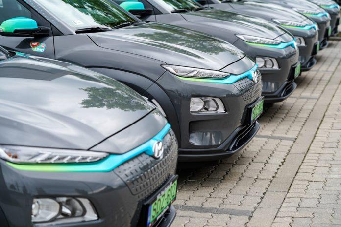 MOL Limo Hyundai Kona electric