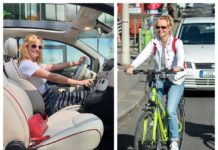 budapest kerékpárutjai női autós szemével