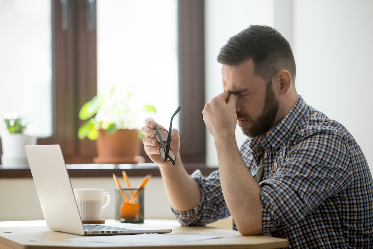 migrén fejfájás okostelefon számítógép