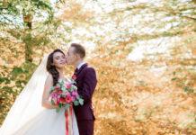 őszi esküvői helyszínek menyasszony