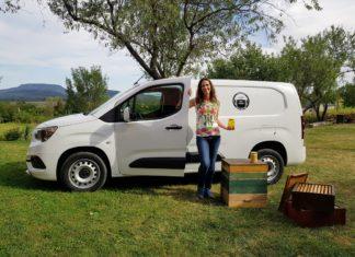 Opel Combo méhészetben használt kishaszonjármű