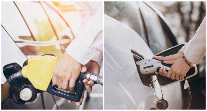 benzines járművek e-járművek