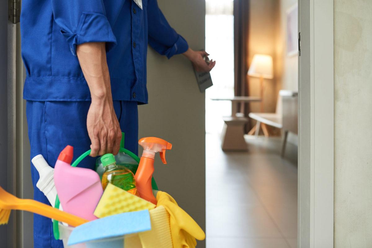 hotel tisztítószerek fertőtlenítés