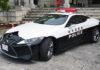 japán rendőrök lexus autója