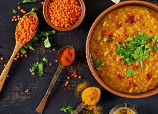 lencse dahl indiai étel recptek