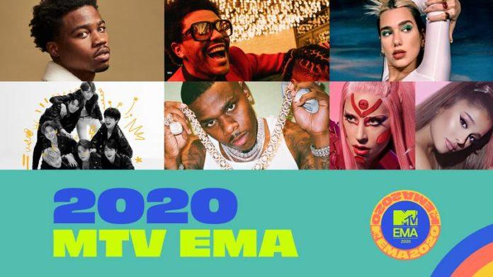 2020 ema european music awards lady gaga ariana grande