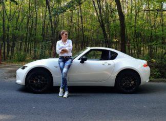 Mazda MX 5 RF Takumi teszt Szebeni Katalin