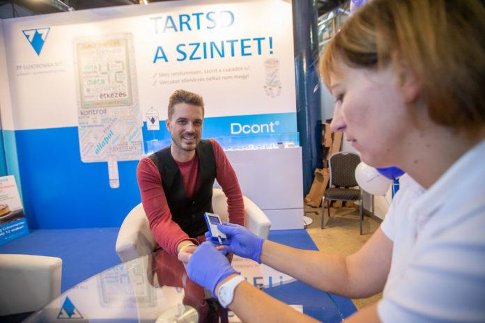 Solti Ádám vércukormérés