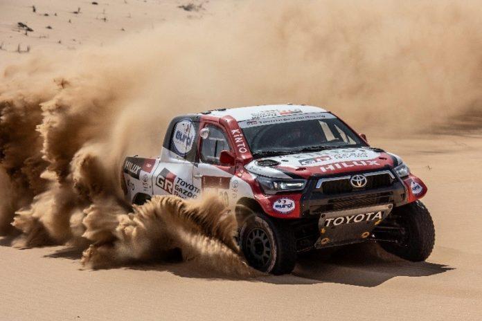 Toyota Hilux Dakary Rally